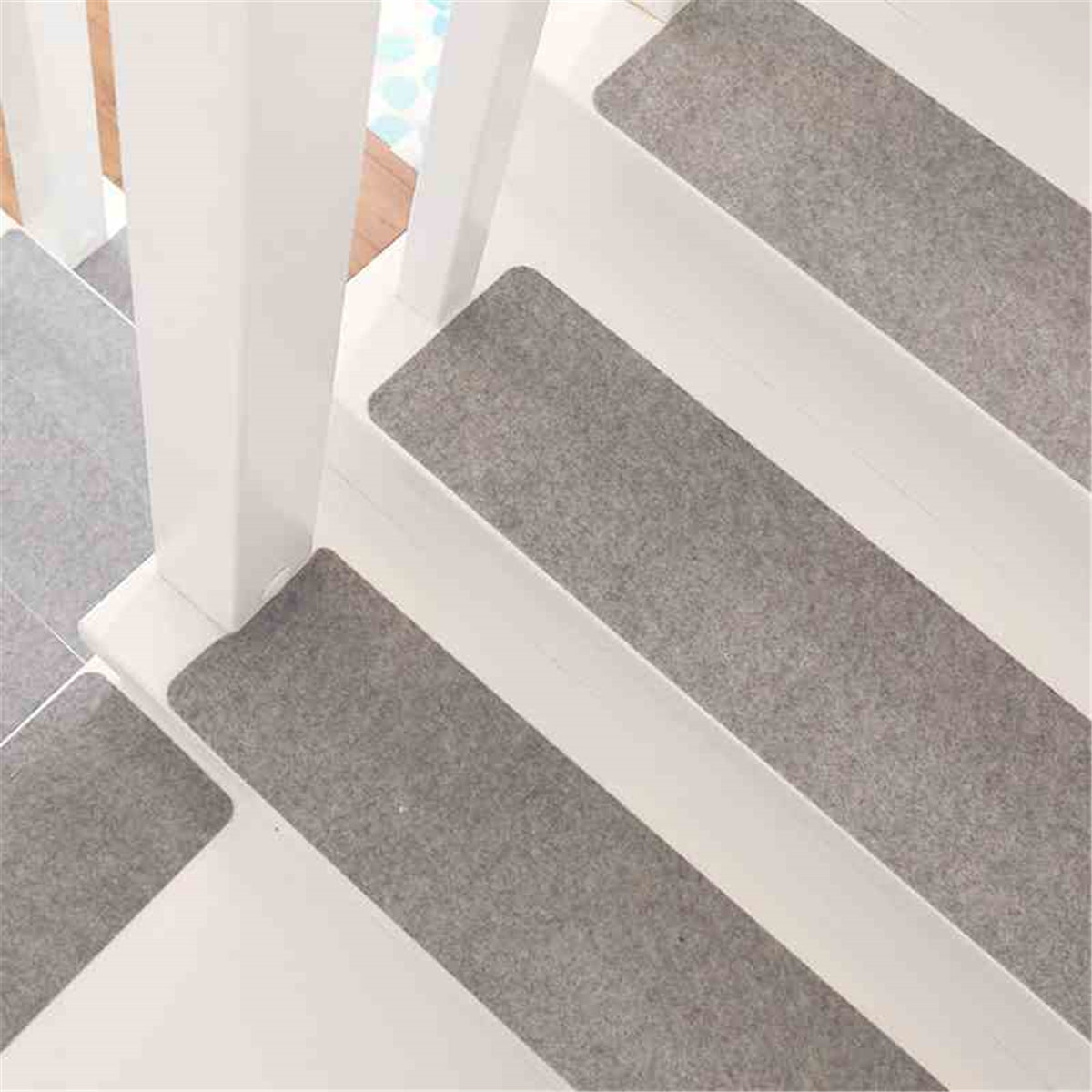 14Pcs/Set Stair Treads Non Skid Slip Carpet Stair Treads Pads Soft Indoor Home Set