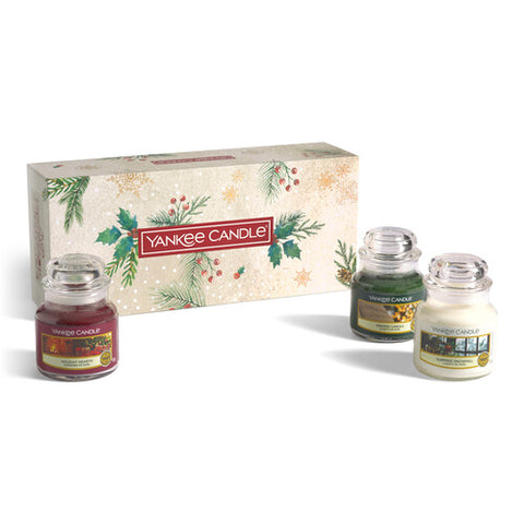 3 Small Jar Candle Gift Set