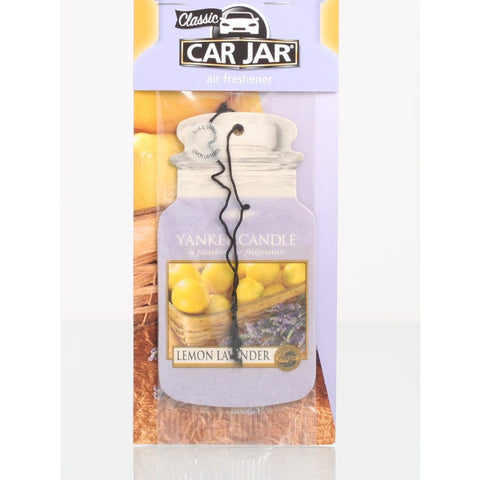 Lemon Lavender Car Jar