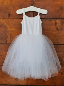 Ballerina Tulle Flower Girl Dress | Princess Baby Girls Dress freeshipping - Kiddio