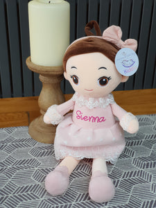 Personalized Rag Doll