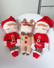Load image into Gallery viewer, Personalized Christmas Mrs Claus or Reindeer freeshipping - Kiddio