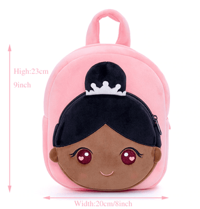 Personalised Dark Skin Ballerina Bag Toddler Gift