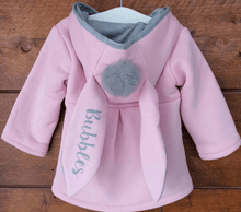 Load image into Gallery viewer, Winter Autumn Baby Girl Bunny Coat freeshipping - Kiddio