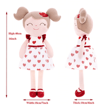 Load image into Gallery viewer, Gloveleya Heartbeat Girl Doll - Kiddio