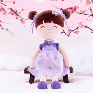 Chineese Style Gloveleya Doll in purple dress