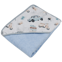Load image into Gallery viewer, Blue Baby Hooded Towel