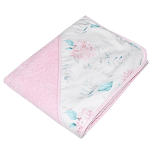 Load image into Gallery viewer, Pink Baby Hooded Towel