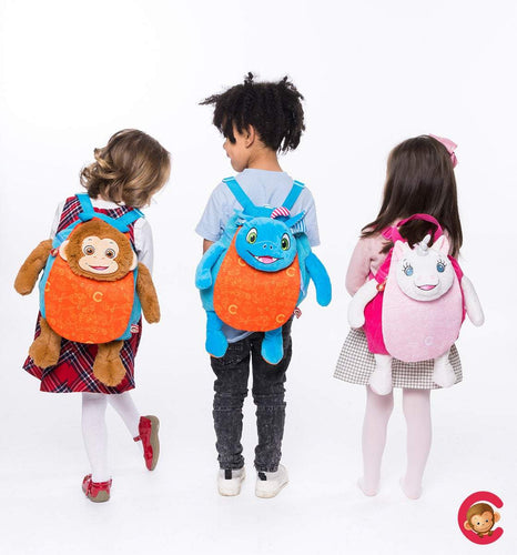 Cubbies Personalized Backpacks -  Nursery Bag, Back to School, Penguin, Unicorn, Monkey