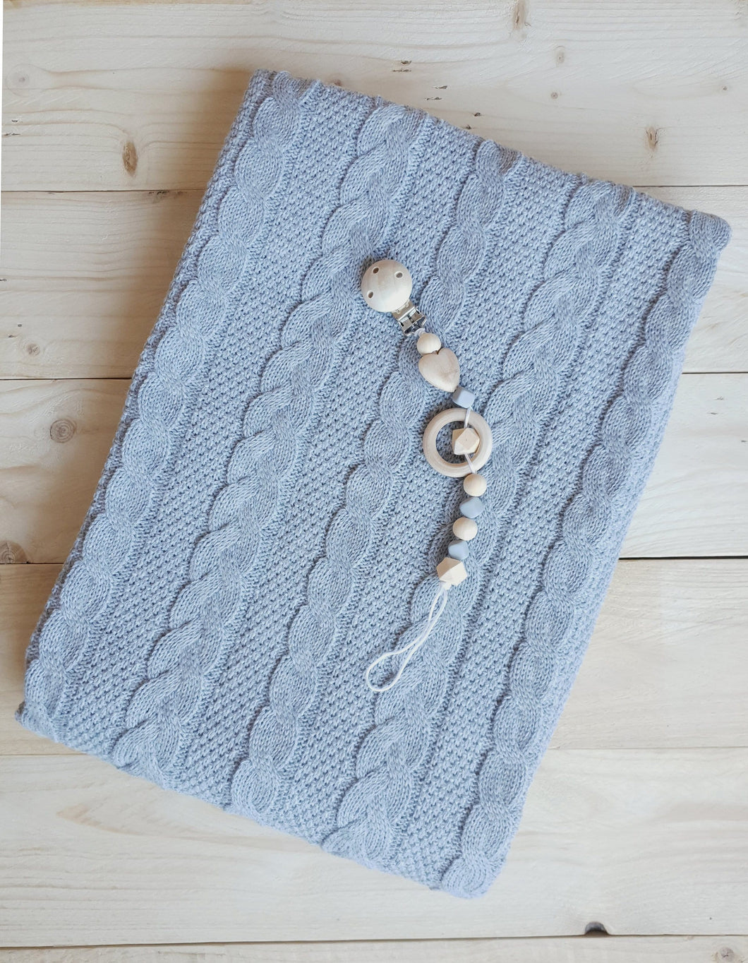 Knitted Baby Blanket freeshipping - Kiddio