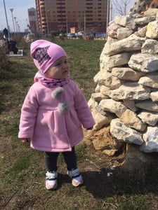 Winter Autumn Baby Girl Bunny Coat freeshipping - Kiddio