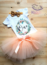 Load image into Gallery viewer, 1st Birthday Tutu Dress Set