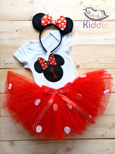 Load image into Gallery viewer, 1st Birthday Tutu Dress Set freeshipping - Kiddio