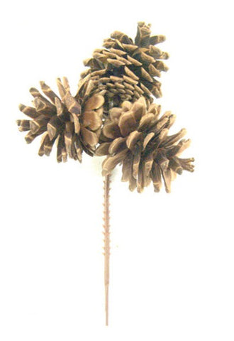 Triple Pinecone Pick - Multiple Styles