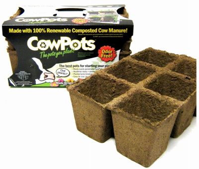 Cow Pots - 6-cell 3 pack