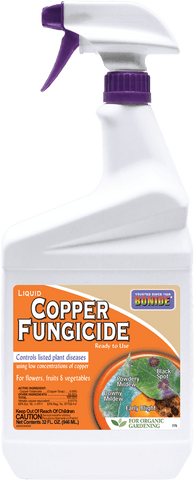 Bonide Copper Fungicide Ready-To-Use - 32oz. Spray Bottle
