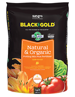 Black Gold Natural & Organic Potting Mix - Multiple Sizes