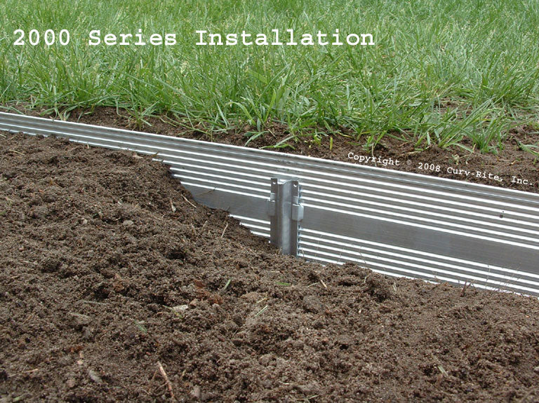 Aluminum Landscape Edging 2000 series