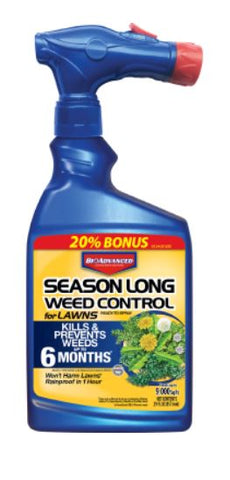 Bioadvanced/Bayer Season Long Weed Control for Lawns