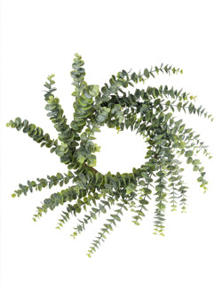 Artificial Eucalyptus Wreath 24""