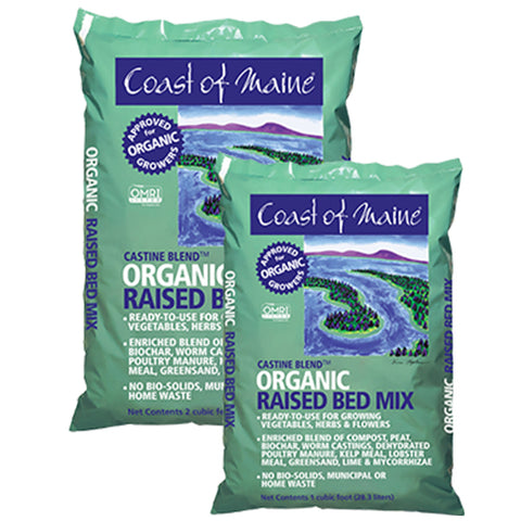 Castine Blend Organic Raised Bed Mix 2 cu ft