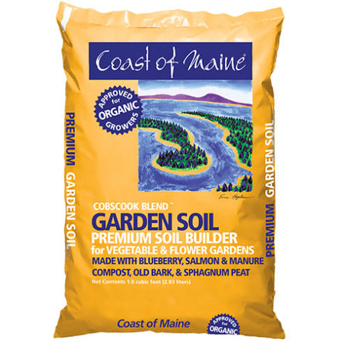 Coast of Maine Cobscook Blend Garden Soil - 1 cu ft bag