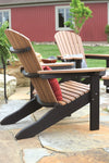 Berlin Gardens Adirondack Chair - Comfo Back Style Stationary