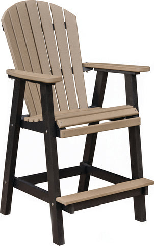 Berlin Gardens Comfo Back Dining Chair - Bar Height