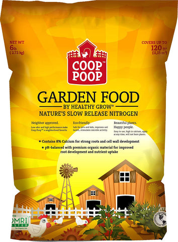Coop Poop All Purpose Garden Food - Multiple Sizes