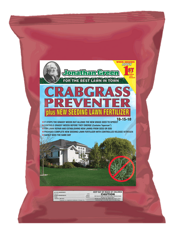 Jonathan Green Crabgrass Preventer plus New Seeding Lawn Fertilizer (15lbs.)