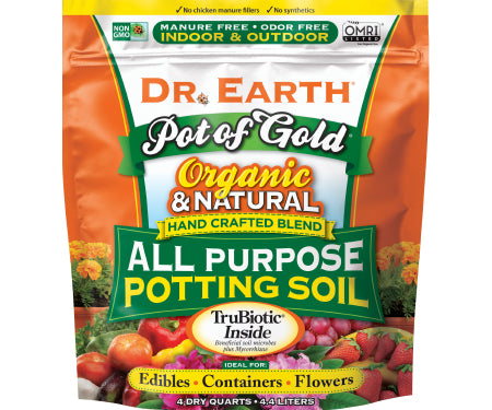 All Purpose Potting Soil - 4 qt bag