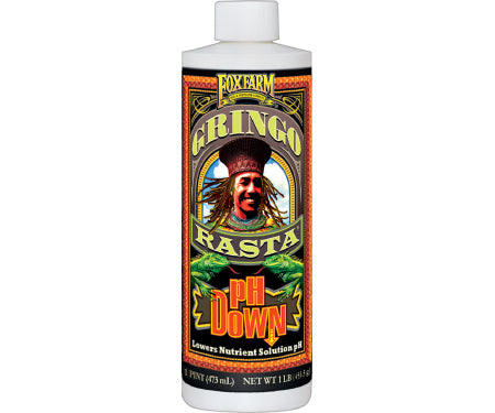 Fox Farm Gringo Rasta pH Down (16oz)