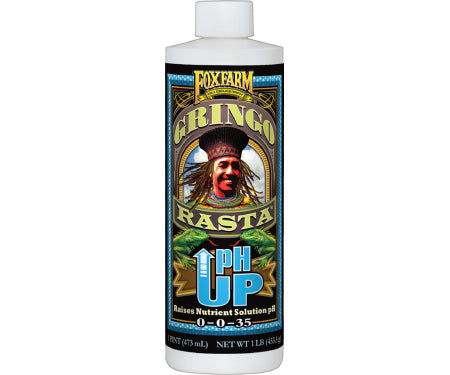 Fox Farm Gringo Rasta pH Up (16oz)