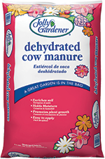 Dehydrated Cow Manure - 40 lb bag