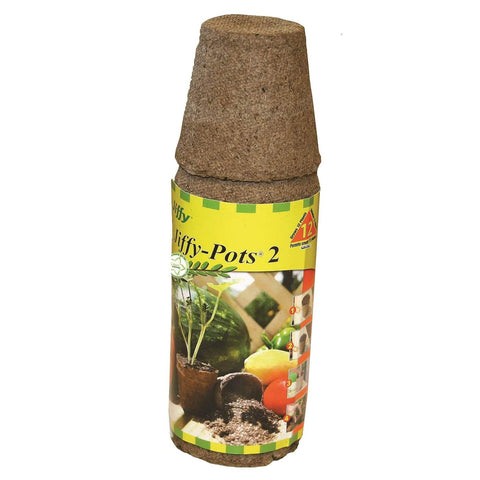 Jiffy Peat Pot Round - 2 in - 12 Pack