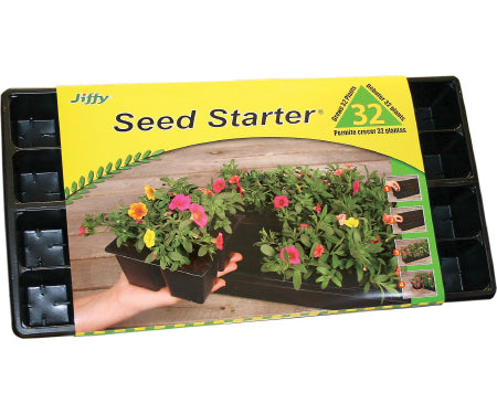 Jiffy 32-Cell Seed Starter Greenhouse