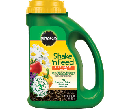 Miracle-Gro® Shake 'n Feed All Purpose Plant Food (4.5lb)