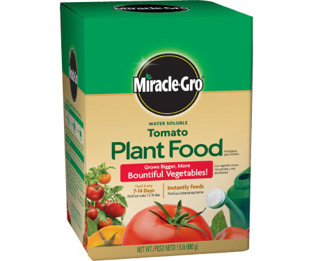 Miracle-Gro® Water Soluble Tomato Plant Food (1.5lb)