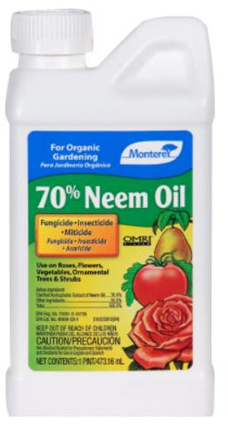 Monterey 70% Neem Oil Concentrate - 16oz
