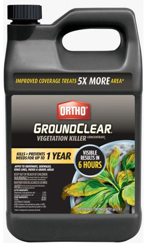 Ortho Groundclear Vegetation Killer Concentrate - 1gal
