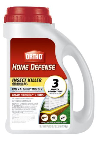 Ortho Home Defense Insect Killer Granules - 2.5lbs