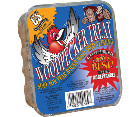 Suet Woodpecker Treat 11oz