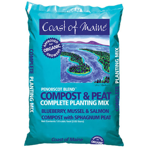Penobscot Blend Compost & Peat - 1 cu ft bag