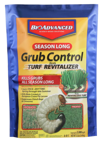 Grub Control Season Long with Turf Revitalizer - 12 lb bag