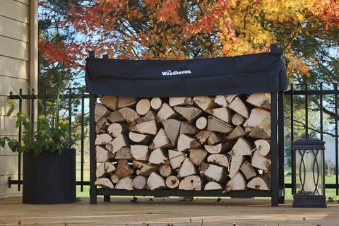 Woodhaven Firewood Rack - Multiple Sizes