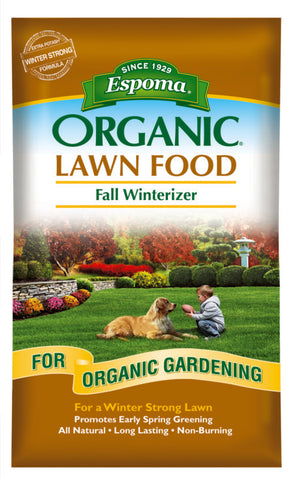 Espoma Organic Lawn Food Fall Winterizer (30lbs.)
