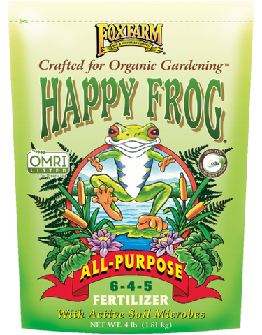 Fox Farm Happy Frog All-Purpose Fertilizer (4lbs.)
