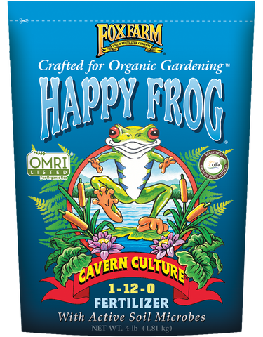 Fox Farm Happy Frog Cavern Culture Fertilizer (4 lbs.)
