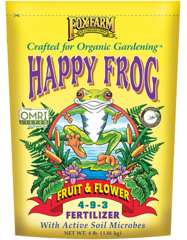 Fox Farm Happy Frog Fruit & Flower Fertilizer (4 lbs.)