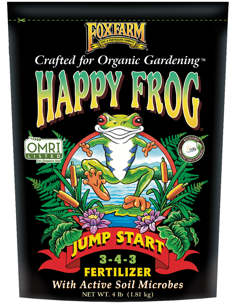Happy Frog Jump Start Fertilizer - 4 lb